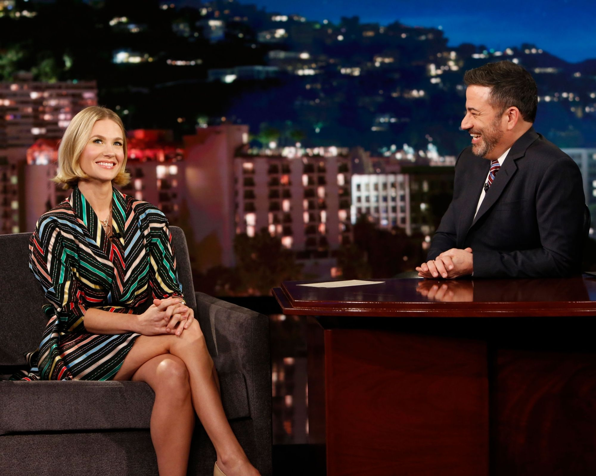 "January on ""Jimmy Kimmel Live!"""